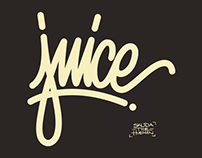 Lettering typography by SKUDA
