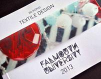 BA (Hons) Textile Design Exhibition Catalogue