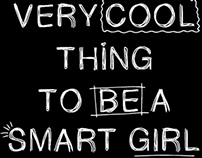 Estampa Smart Girl