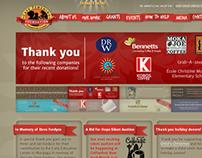 Cafe Femenino Foundation web site redesign