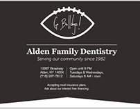 Newspaper Ad: Alden Family Dentistry