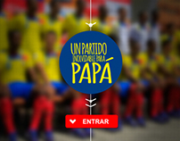 App Design - Un partido inolvidable para papá