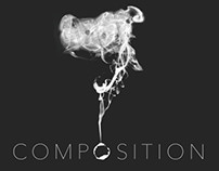 'Composition' Exhibition Branding