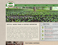 OPTCO web site redesign