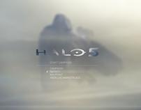 Halo 5 Menu Concept