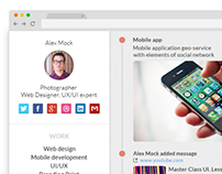 Design social application.