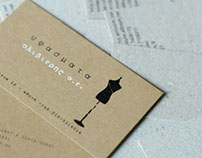 business cards for a fabric store