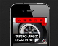 Superchargedmiata.net iPhone site version