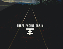 Three Engine Train Branding & Album Art