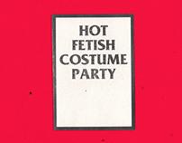 hot fetish costume party zine