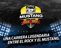 Mustang Rock Race