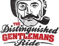 The Distinguished Gentleman's Ride Poster
