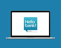 Landing page for Hellobank