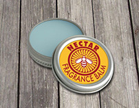 Nectar Fragrance Balm - Label