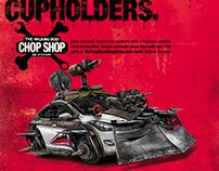 Hyundai Chop Shop TWD Print Campaign - Elantra