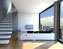 Living Room / 3D