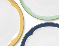 Accented dinnerware