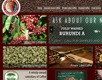 Coffee Holding Company web site redesign