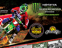 Legends and Heroes Monster Energy Supercross