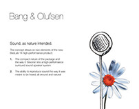 Bang & Olufsen launch concept - BeoLab 14
