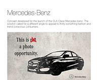 Mercedes-Benz - CLA-Class launch eDM concept