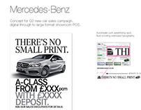 Mercedes-Benz - New car sales concept