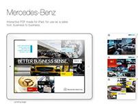 Mercedes-Benz - iPad presenter - B to B