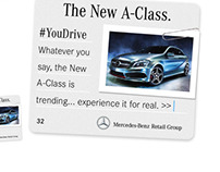 Mercedes-Benz - #youdrive: animated banner & eDM