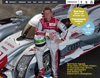 Allan McNish web site