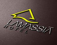 Lamassiá Boutique Hotel Logo Design