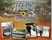 Cherry Valley Lodge Spring Bridal Campaign