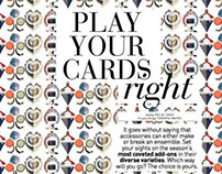 Accessory Shoot | Play Your Cards Right | Nov 2013