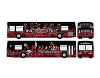 """IncREDible"" Football Bus"