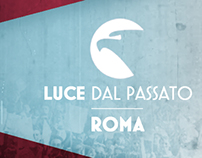 Luce dal passato - ROMA - Design mobile Application