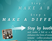 Cafe Femenino Foundation print ads