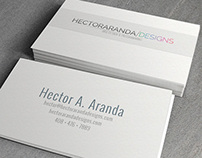 Hector Aranda Designs Business Cards