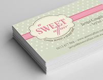 A Sweet Affair - Logo + Stationery