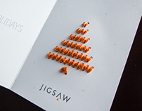 Jigsaw Holiday Card