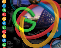Commonwealth Games Glasgow 2014 - Poster design
