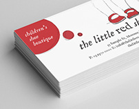 The Little Red Shoe - Logo + Stationery