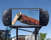 PSP Ambient Advertising
