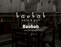 Baobab - website design