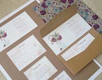 Rustic - Autumn Wedding Invitation
