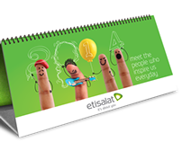 Etisalat Calendar 2014