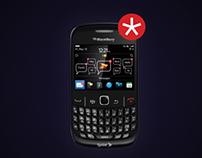 Blackberry ad for exam