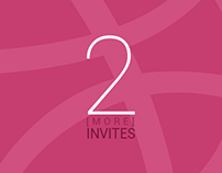 It is like Monsoon of Free Dribbble Invites…