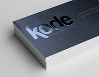 Kode Entertainment Group Logo and Stationery
