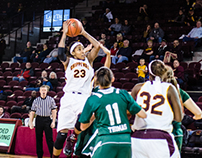 Central Michigan University Women's Basketball 1-30-14