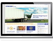 Syncada Website Design