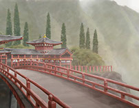 Animation Backgrounds and Concept Art